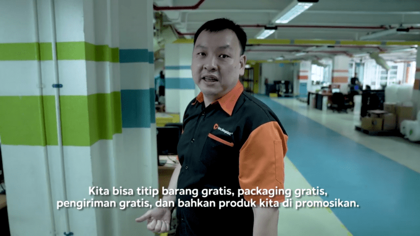Pak Arie selaku pengguna FBB dari Blibli.com